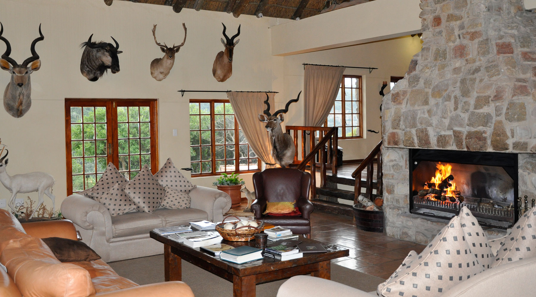 Kikuyu Lodge Game Reserve Owned by Lawrence A. Franks and Managed by Harry Fourie